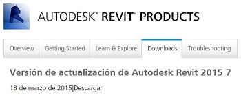 Revit 2015 Web Update 7